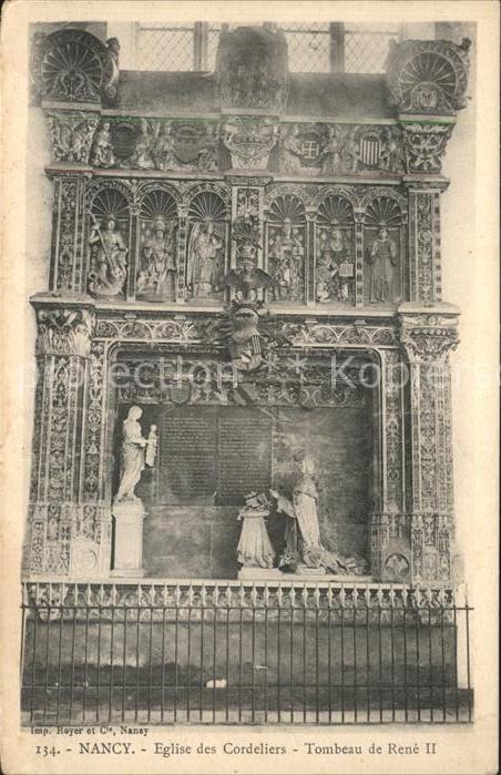 Nancy Lothringen Eglise des Cordeliers / Nancy /Arrond. de Nancy