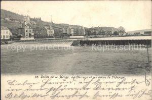 Fidevoye Barrage et les Villas Vallee de la Meuse