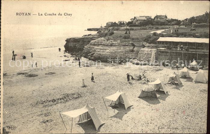 Royan Charente Maritime La Conche du Chay Plage Kat. Poitiers Charentes