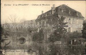 Le Saillant Chateau de Mirabeau