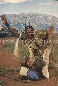 Swaziland Swazi Man Scenes et Types