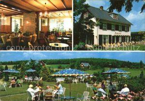 Zeddam Hotel Ruimzicht Restaurant Garten Kat. Montferland