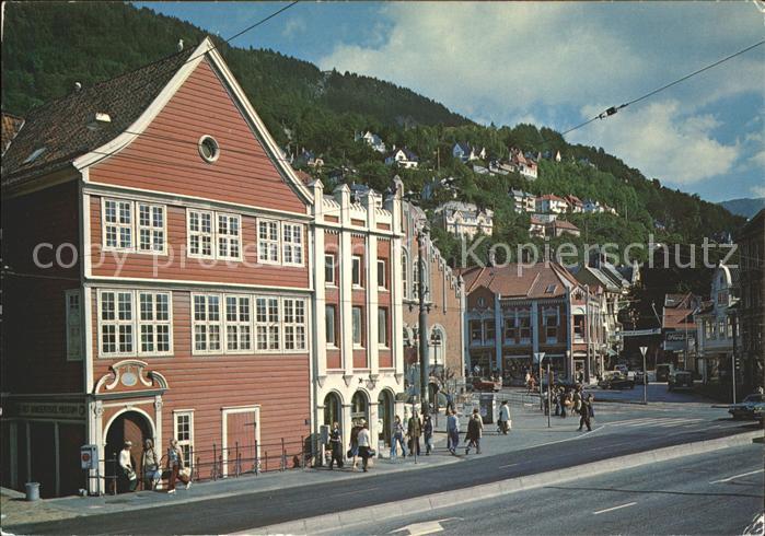 Bergen Norwegen Hanseatisk Museum Kat. Norwegen