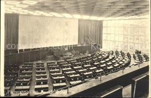 Bonn Rhein Plenarsaal im Bundeshaus / Bonn /Bonn Stadtkreis