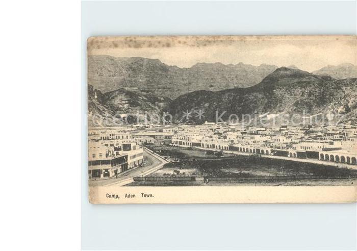 Aden Camp Aden Town Kat. Jemen