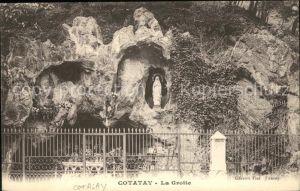Cotatay La Grotte Madonnenfigur