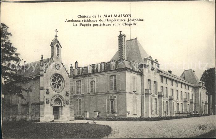 Malmaison Rueil Chateau Imperatrice Josephine Chapelle Kat. Rueil Malmaison