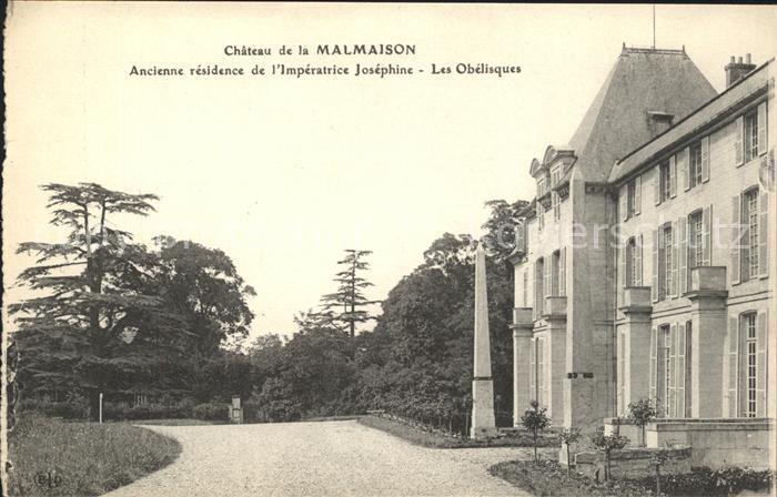 Malmaison Rueil Chateau Imperatrice Josephine Obelisque Kat. Rueil Malmaison