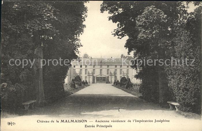 Malmaison Rueil Chateau Imperatrice Josephine Entree Principale Kat. Rueil Malmaison