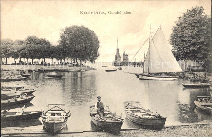 Konstanz Bodensee Gondelhafen  Kat. Konstanz