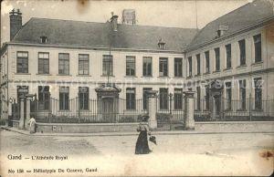 Gand Belgien Athenee Royal Kat. Gent Flandern