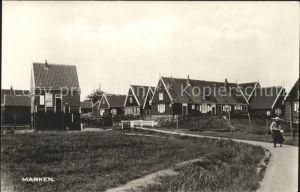 Marken Niederlande Teilansicht des Inseldorfes Kat. Niederlande