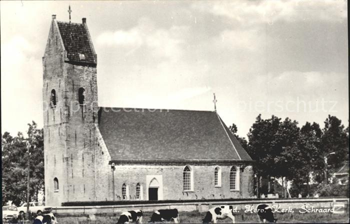 Schraard Ned Herv Kerk Kirche Kuehe