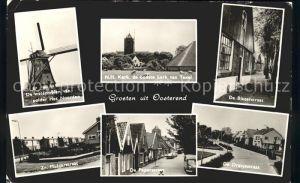 Oosterend Watermolen Kerk Straat Windmuehle