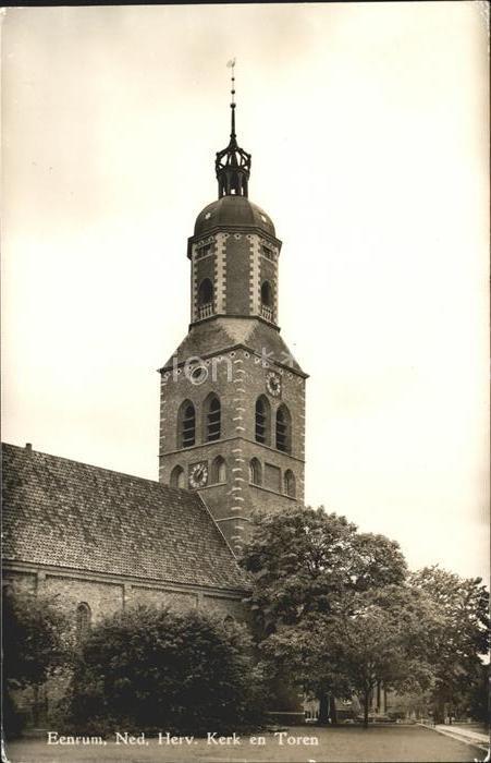 Eenrum Ned Herv Kerk en Toren