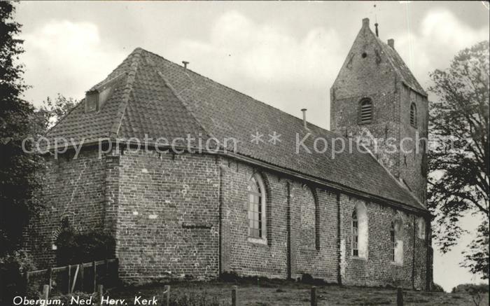 Obergum Ned Herv Kerk Kirche