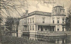 Leek Groningen Huize Nienoort Burcht Landgoet / Leek /