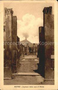 Pompei Ingresso della casa di Pansa Ruinen antike Staette