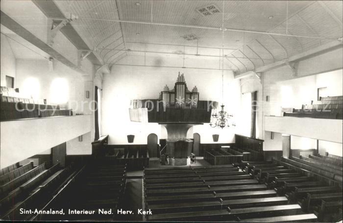 St Annaland Interieur Ned Herv Kerk Orgel