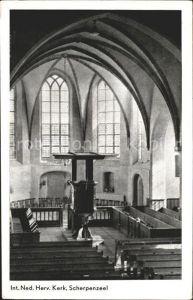 Scherpenzeel Interieur Ned Herv Kerk Kirche