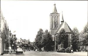 Scherpenzeel Ned Herv Kerk Kirche Strassenpartie
