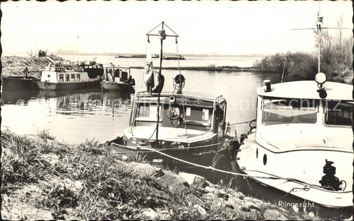 Tolkamer Lobith Rijngezicht Rhein Boot