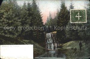 Loenen Waterval Wasserfall Kat. Veluwe