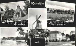 Warnsveld Gelderland Fontein Gemeentehuis Kerk