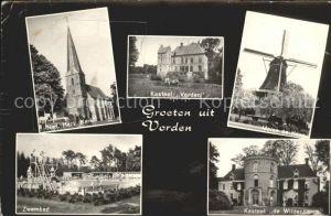 Vorden Kasteel Molen Kerk