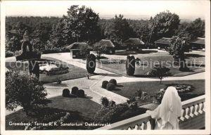 Groesbeek Gelderland Terras Sanatorium Dekkerswald