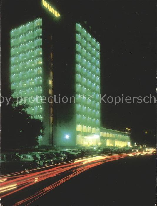 Bulgarien Hotel Schipka bei Nacht / Bulgarien /