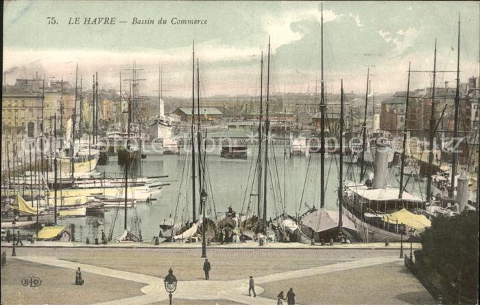 Le Havre Bassin de Commerce Bateaux Kat. Le Havre