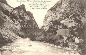 Combe du Queyras Gorges du Guil Route des Alpes Schlucht