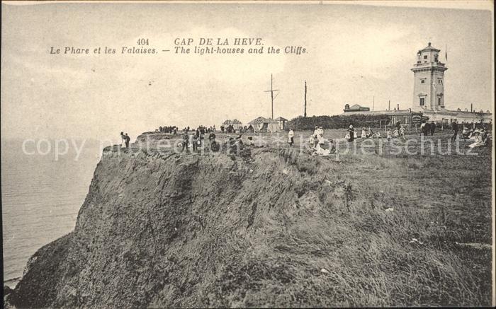 Cap de la Heve Phare et les Falaises Leuchtturm Steilkueste