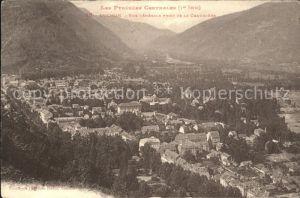 Luchon Haute Garonne Vue generale prise de la Chaumiere Kat. Bagneres de Luchon