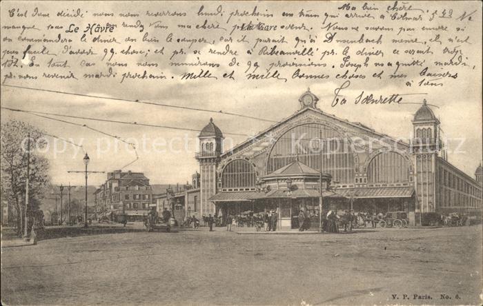 Le Havre La Gare Bahnhof Kat. Le Havre