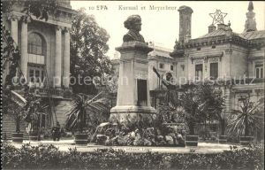 Spa Liege Kursaal et Meyerbeer Denkmal Bueste /  /