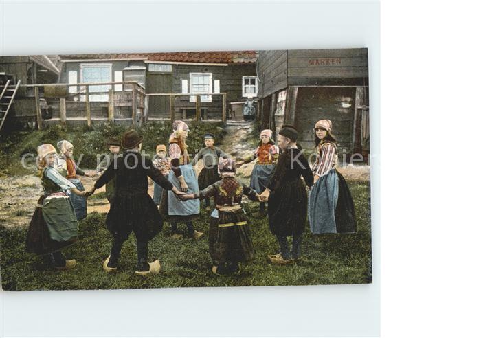 Marken Niederlande Kinder beim Spielen Kat. Niederlande