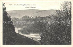 Laasphe Partie aus dem Laasphetal Schloss Wittgenstein Kat. Bad Laasphe