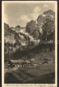 Vorderbrand Alpenwirtschaft Kat. Berchtesgaden