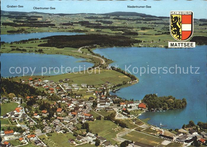 Mattsee Salzburg Fliegeraufnahme / Mattsee /Salzburg und Umgebung