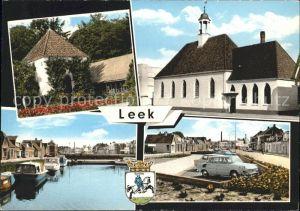 Leek Groningen Kirche  Kat. Leek