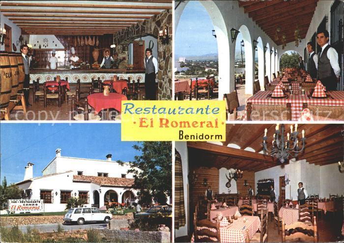 Benidorm Restaurante El Romeral Rincon de Loix  Kat. Costa Blanca Spanien