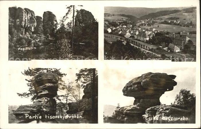 Ceske Svycarsko Felsformationen Elbsandsteingebirge