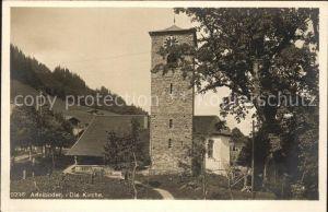Adelboden Kirche Kat. Adelboden