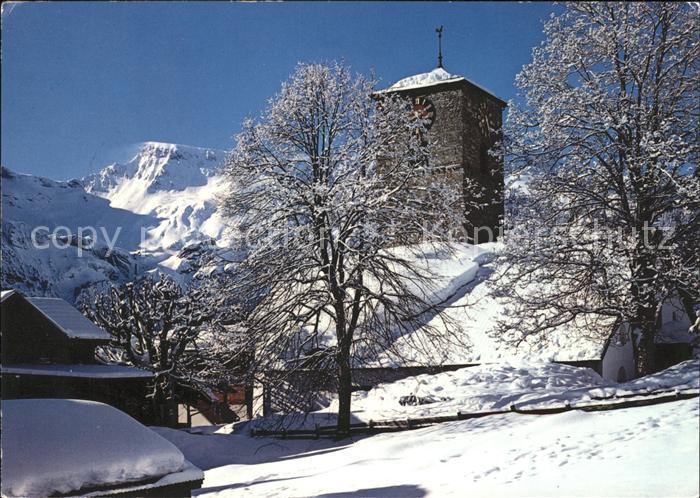Adelboden Ref. Kirche Wildstrubel Kat. Adelboden