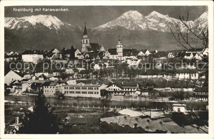 Krainburg Kranj Karawanken Kat. Slowenien