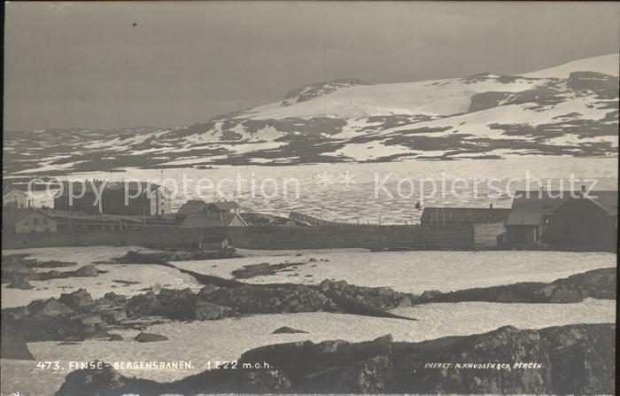 Finse Bergensbanen Kat. Norwegen
