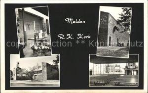 Niederlande Kerk Malden Kat. Niederlande