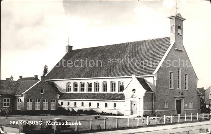 Spakenburg Maranathakerk Kirche Kat. Bunschoten Spakenburg